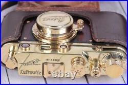 Vintage Film Leica camera rangefinder Lens Elmar f3.5/50mm