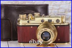 Vintage Film camera Leica II D Berlin 1936, Lens f2.8/52mm