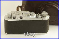 Vintage LEICA I D. R. P. Camera Ernst Leitz Wetzlar Exclusive(zorki copy)