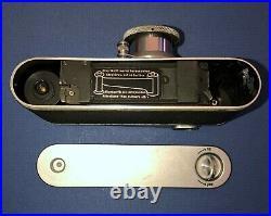 Vintage Leica D. R. P. Ernst Leitz Wetzlar 35MM SLR Camera With Original Case