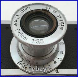 Vintage Leica Standard Camera #291130 w. Elmar 3,5/50mm lens
