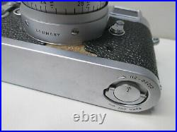 Vintage Leica Wetzlar M-3 Summicron Camera with F=5cm 12 Lens