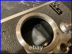Vintage Original D. R. P. Leica Leitz Wetzlar IIIC Rangefinder 35mm Camera Body