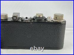 Wunderschöne Leica I Kamera von 1930 Black 35304 mit Elmar und Ledertasche